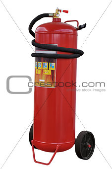 Modern powder fire extinguisher