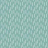 Rain shapes tiny blue retro seamless vector pattern.