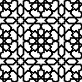 Seamless arabic geometric ornament