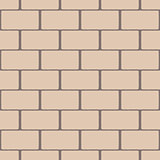 Beige seamless pattern imitating a brick wall
