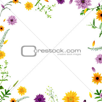 Poster With Flowers