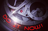 Do IT Now on Luxury Watch Mechanism. 3D.