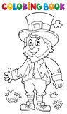 Coloring book leprechaun 2