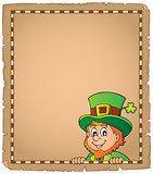 Lurking leprechaun topic parchment 1