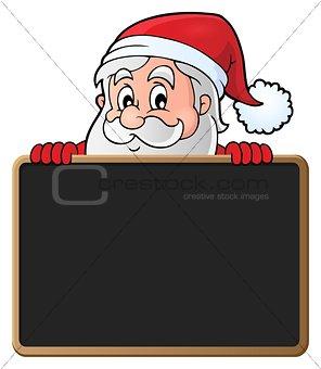 Santa Claus with blackboard theme 2