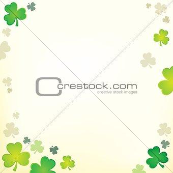 Three leaf clover theme 1