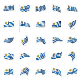 Uruguay flag, vector illustration