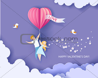 Card for Valentines day