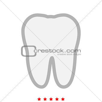 Tooth it is icon .