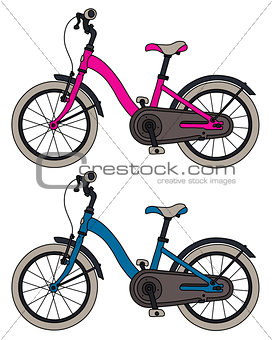 Two kids bicycles
