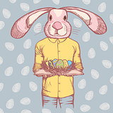 Vector Happy Easter concept