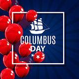 Vector Illustration of Columbus Day