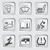 Car Dashboard icons 4