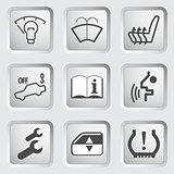 Car Dashboard icons 4