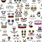 Monster Faces, Seamless