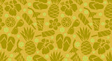Pattern Summer vector