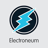 Electroneum - Cryptocurrency Colored Logo.