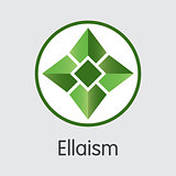 Ellaism - Cryptocurrency Colored Logo.