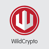 Wildcrypto - Virtual Currency Coin Illustration.