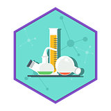 Chemical laboratory tube