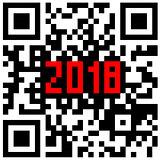 Modern technologies 2018 written inside a QR code