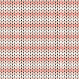 pink striped knitted seamless pattern