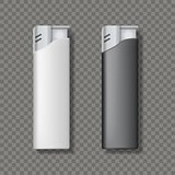 Two lighters template