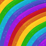 Rainbow colors background. Cartoon Background. Wallpaper. Vector Illustration