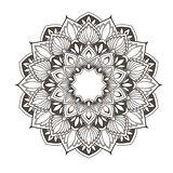 Ethnic mandala design - flower style oriental pattern