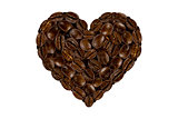 the heart of the coffee beans