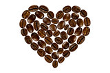 coffee beans sweetheart
