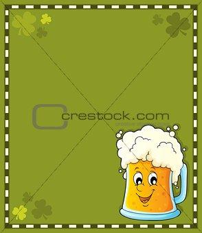 Beer theme frame 1