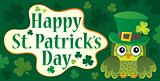 Happy St Patricks Day theme 9