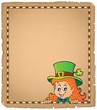Lurking leprechaun girl parchment 1