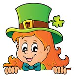Lurking leprechaun girl theme 1