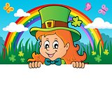 Lurking leprechaun girl theme 2