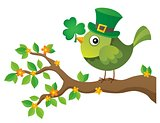 St Patricks Day theme with bird image 2