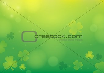 Three leaf clover abstract background 1