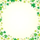 Three leaf clover abstract background 5