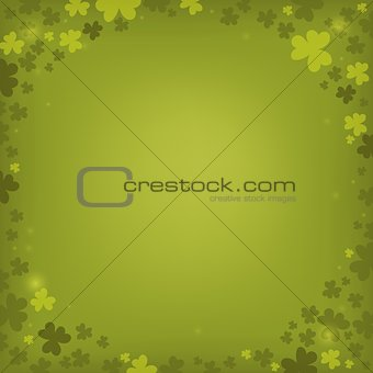 Three leaf clover abstract background 6