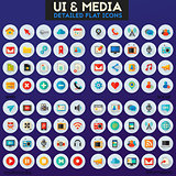Ui and Multimedia big icon set