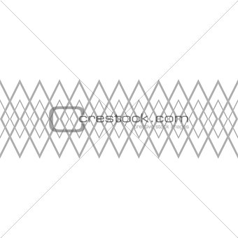 Tile grey and white vector pattern