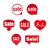 Sale Label sticker set