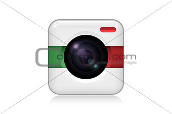 Camera for Mobile Application Icon