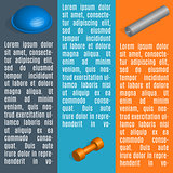 Set of info graphics elements fitness, vector illustration.