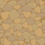Vector texture of stones in brown colors