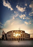 Ancient Roman Colosseum