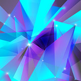 geometric background violet turquoise