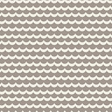 Wavy rows seamless vector pattern.