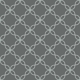 Quatrefoil line seamless vector pattern.